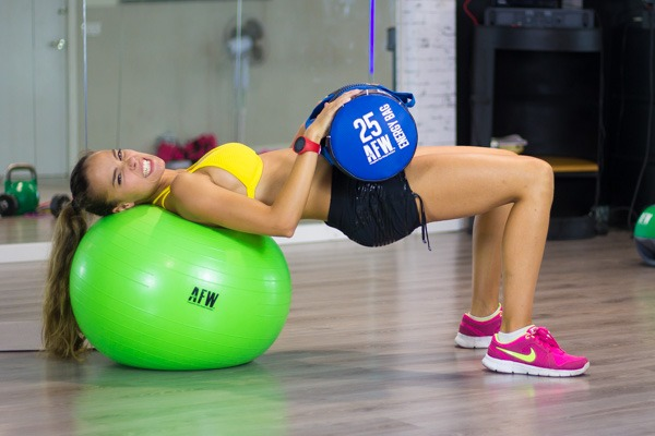entrenamiento funcional fitball