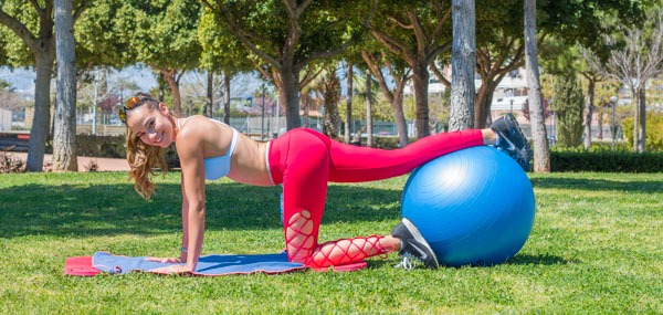 entrenamiento inestable fitball