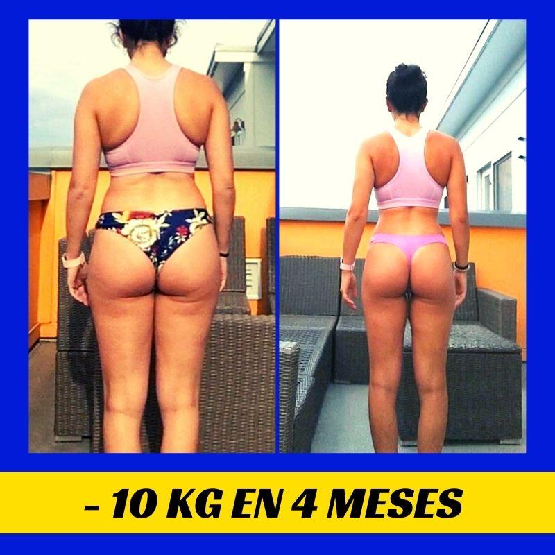 10 cm de cintura menos en solo 4 meses