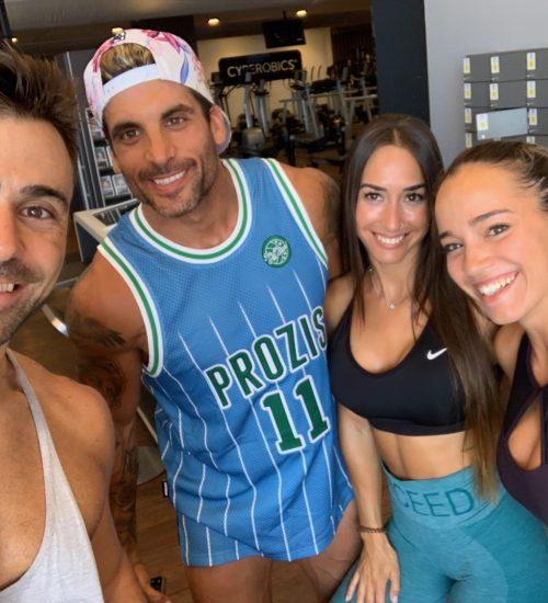 Con Borja SanFelix y Espe Workout