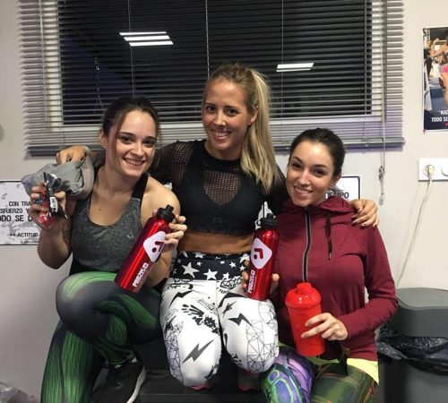 Con Cristina, Maria Jose y Maria