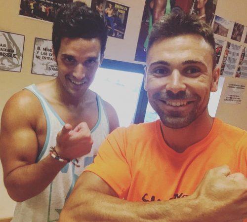 Con Miguel