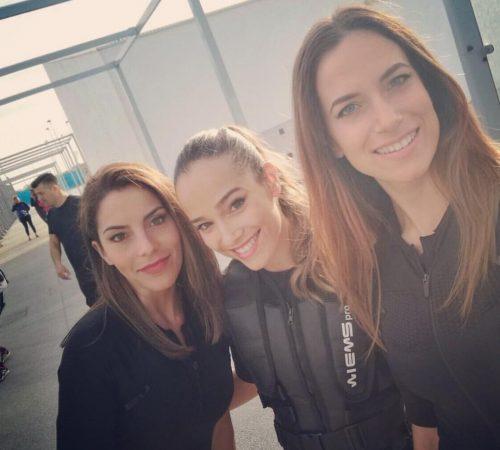 Con Irene y Maria