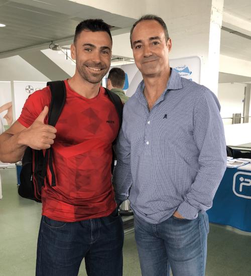 Con Juan Trapero - Preparador Físico Real Madrid Basket