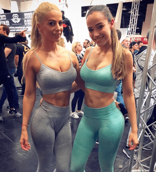 Con Yanita Yancheva (Fitness Model)